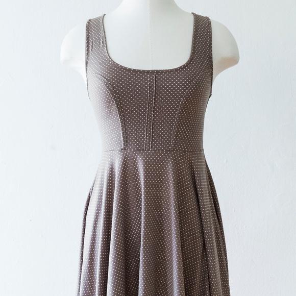 8d18f887138 Free People Dresses   Skirts - Polka Dot Jersey Skater Dress